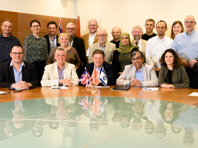 NIBN team meeting with Vice-Chancellors from UK universities