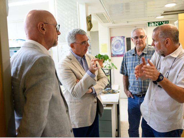 Gianluigi Benedetti, Italian Ambassador to Israel – Visit to the NIBN