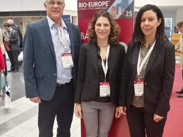NIBN team at the 2019 Bio-Europe Conference