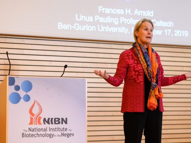 NIBN distinguished speaker series – Prof. Frances Arnold