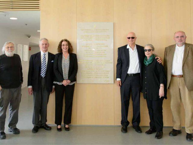 Inauguration of the Edgar de Picciotto Family NIBN Building